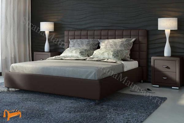 Орматек Кровать двуспальная Corso 3 , корса 3, коричневый