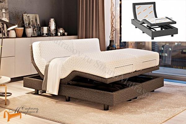 Орматек Основание для кровати Smart Bed + режим массаж + пульт , трансформирующая кровать, трансформирующие основание, меняет изгиб, поднимается изголовье изножье, Смарт Бед, основание на пульте