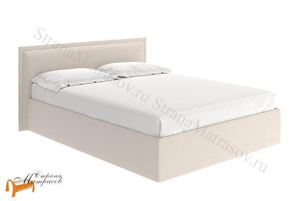 Райтон Кровать Aura , аура, ткань, велюр, черный, белый, бежевый, коричневый, кремовый
