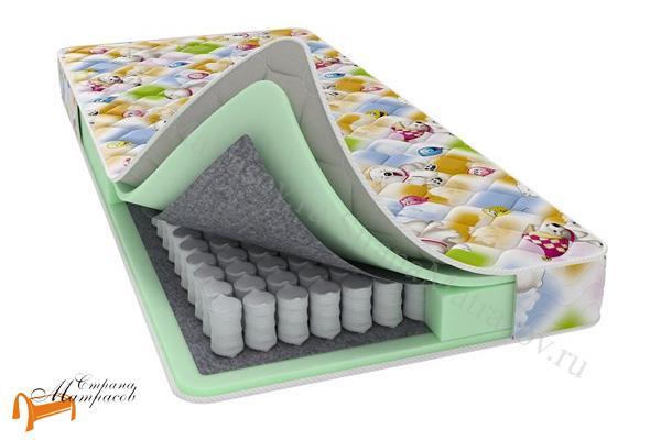Райтон  Baby Base (чехол Print) , райтекс, пружинный, для детей, для подростков