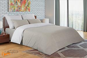Райтон -  Комплект постельного белья Лён - хлопок Laguna Евро