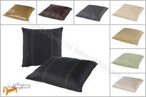 Райтон - Подушка декоративная из экокожи 43 х 43см