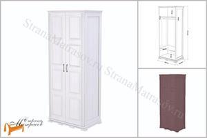 Райтон - Шкаф 2-х дверный Milena (глубина 620 мм)