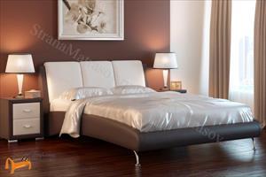 Райтон -  двуспальная Nuvola 2 160-200 РАСПРОДАЖА коричнево-белая