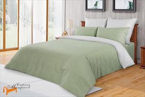 Райтон - Комплект постельного белья Лён - хлопок Alpine. Евро