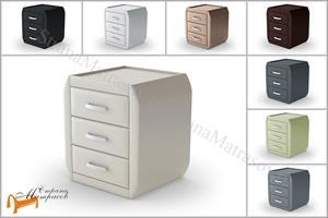 Райтон - Тумба прикроватная Comfy (3 ящика)
