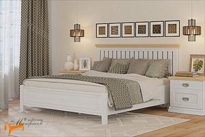 Райтон -  Комплект кровать Оливия с основанием и тумба Оливия