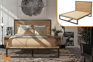 Райтон - Кровать Loft L со сплошным основанием