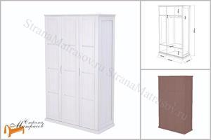 Райтон - Шкаф 3-х дверный Веста R (глубина 610 мм)