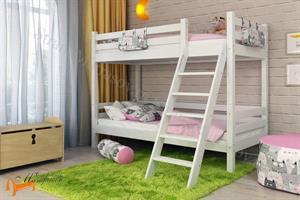 Райтон - Кровать Отто 10 с наклонной лестницей и основанием