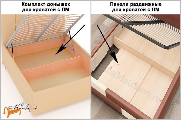 Райтон Кровать Life 1 софа с подъемным механизмом , экокожа, ткань, коричневый, белый, бежевый, черный, лайф