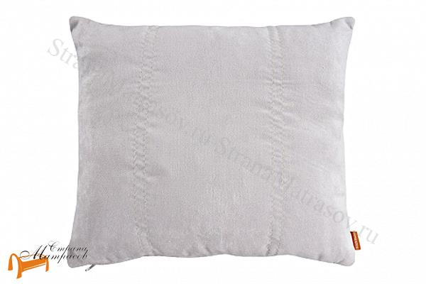 Райтон Подушка декоративная из ткани , подушка декоративная, 50 на 50, ткань Глазго , рогожка, лофти,
