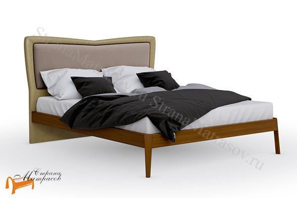 Райтон Кровать Butterfly с основанием , натуральное дерево, бук, березовые ламели