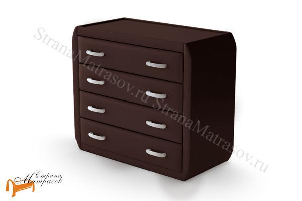Райтон Комод Comfy (4 ящика) , экокожа класса люкс, четыре выдвижных ящика, бежевая, коричневая, кремовая, чёрная, серая, салатовая