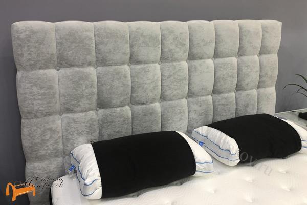 Райтон Кровать RaiBox York с подъемным механизмом , велюр, веллсофт, экокожа, ящик, белый, серый, черный, коричневый, бежевый