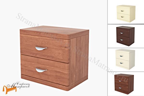 Райтон Тумба Dakota (2 ящика) , натуральное дерево, классика, сосна, Орех, венге, красно-коричневый, слоновая кость, белая эмаль