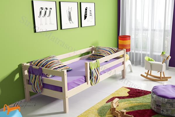 Райтон - детская кровать Райтон Отто 3 с бортиком и основанием