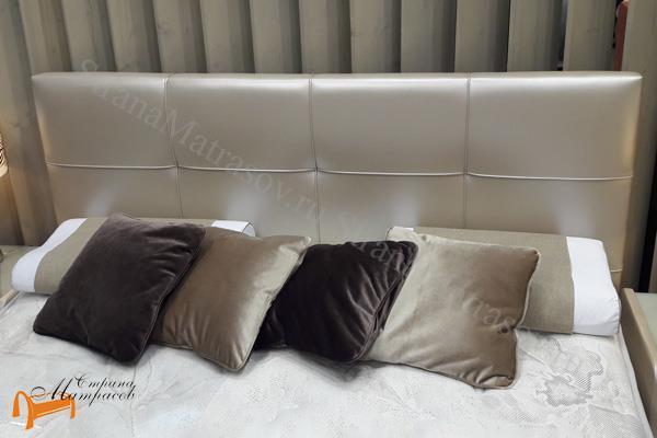 Райтон Кровать Life 1 с основанием , лайв бокс 1, каркас, коркас, подъёмный механизм, подъемный механизм, экокожа, люкс, черная, черный, чёрная, чёрный