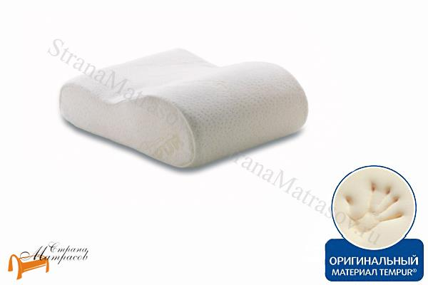 Tempur (Дания) Подушка для путешествий Original Pillow Travel 25 х 31см , Ориджинал Пилоу Трэвел, темпур, материал с эффектом памяти