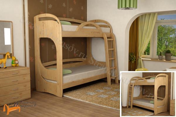 Торис - детская кровать Торис двухъярусная Миа 1