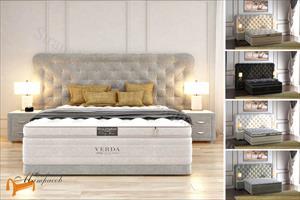Verda - Кровать Cloud с основанием Basement