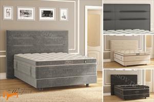 Verda - Кровать Modern с основанием Basement, уменьшенное изголовье