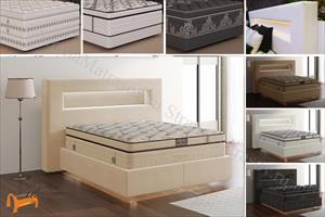 Verda - Кровать Smart с основанием Basement, уменьшенное изголовье