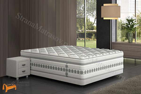 Verda Кровать без изголовья Basement , подиумного вида, сплошное, без углубления, ткань велсофт, трикотаж