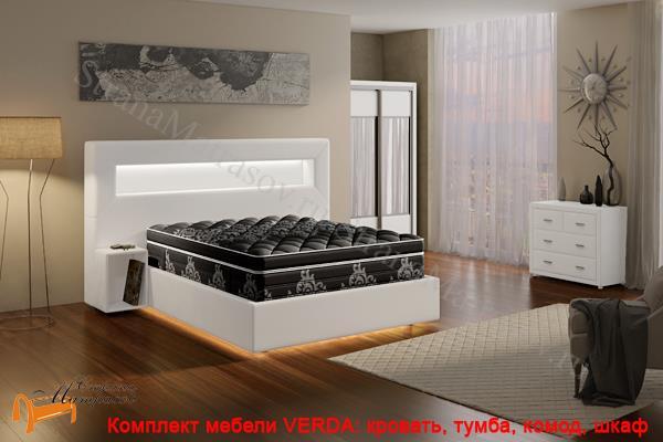 Verda Шкаф 2-х дверный купе (глубина 600мм) , шкаф 1774 мм, с зеркалом, зеркало, ткань, верда, графит, черный, бежевый, серый, Снежно-белый, Снежно - белый, белый