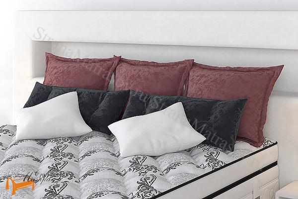 Verda  декоративная, комплект №9 (в наборе 7шт подушек) , велсофт, коричневый, черный, белый