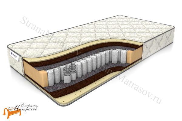 DreamLine Ортопедический матрас Balance Medium TFK 550 , независимый пружинный блок, кокосовая койра, натуральный латекс