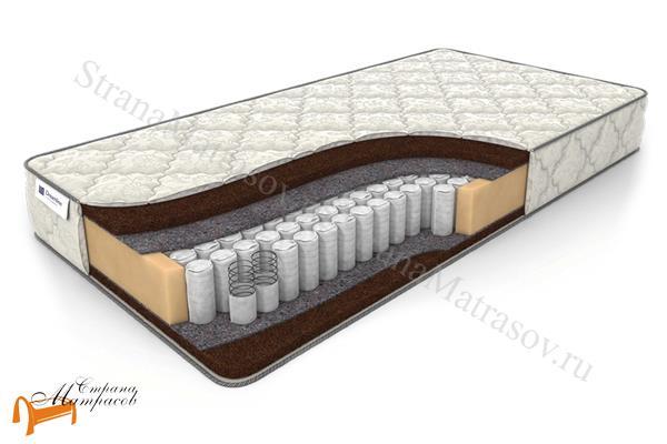 DreamLine Ортопедический матрас Balance Dream 2 TFK 550 , кокосовая койра, термовойлок, независимый пружинный блок, усиление по периметру