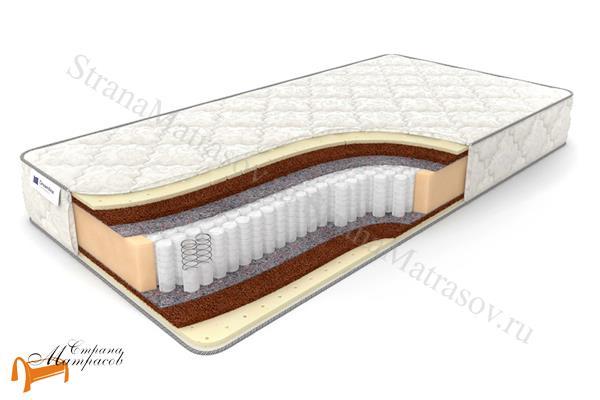 DreamLine Ортопедический матрас Balance Medium S1000 , кокосовая койра, натуральный латекс, термовойлок, независимый пружинный блок