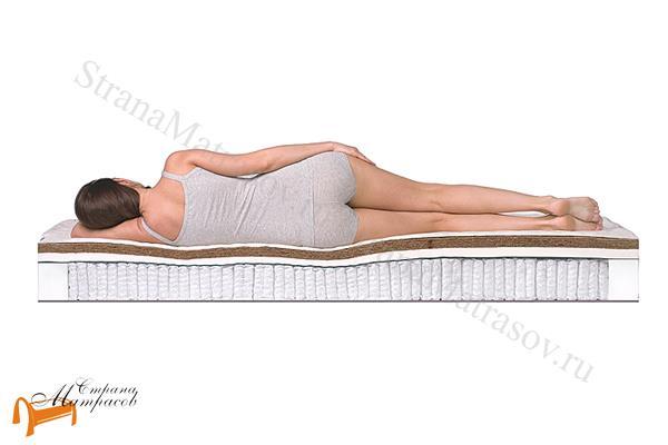 DreamLine Ортопедический матрас Prime Mix S2000 , натуральный латекс, кокос, усиление по периметру