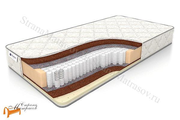 DreamLine Ортопедический матрас Balance Hard S1000 , натуральный латекс, кокосовая койра, термовойлок, независимый пружинный блок.