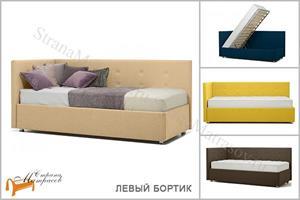 Perrino - Кровать София (левая) с подъемным механизмом