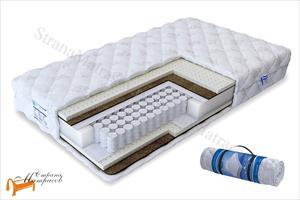 Промтекс-Ориент - Ортопедический матрас Soft Вариант TFK 550