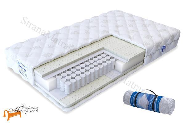 Промтекс-Ориент Матрас Soft Латекс 2 TFK 550 , латекс, пружинный, независимый блок, усиление по периметру