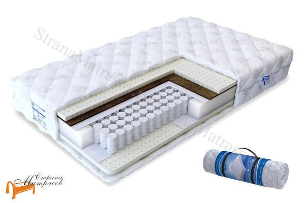 Промтекс-Ориент Ортопедический матрас Soft Престиж TFK 550 , натуральный латекс, кокосовая койра, независимые пружины