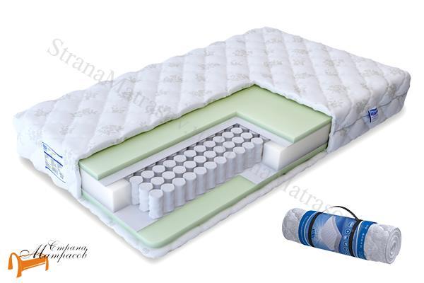 Промтекс-Ориент Ортопедический матрас Soft Стандарт TFK 550 , искусственный латекс, независимые пружины, усиление по периметру, ортопедическая поддержка