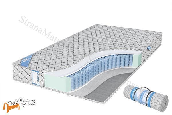 Промтекс-Ориент Матрас EcoMP Струтто Сайд  S1000 , струттофайбер, холлофайбер, независимый блок, термовойлок