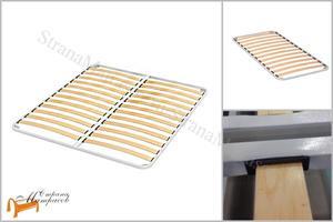 Сонум - Основание для кровати металлическое с березовыми ламелями вкладыш